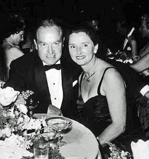 one of Hollywood's longest marriages:  Bob Hope and wife Dolores Hope--married from 1934 until Bob's death in 2003.