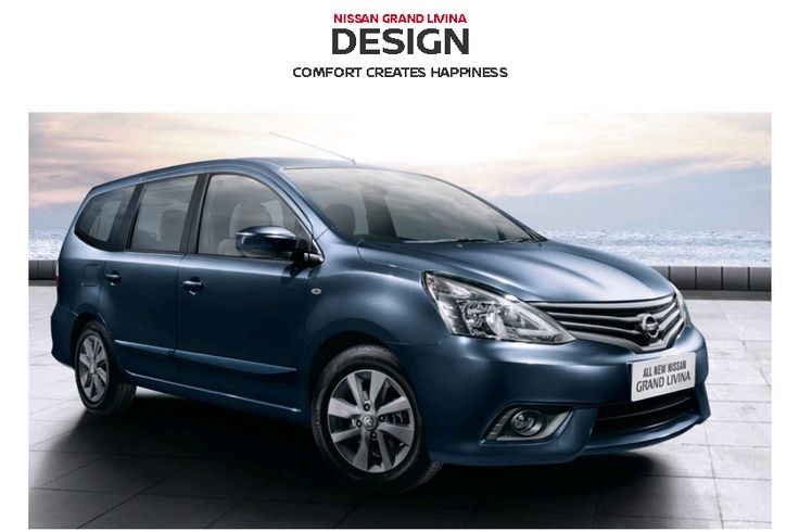 Exterior Design Grand Livina dari Nissan, Mobil Terbaik Pilihan Keluarga Indonesia