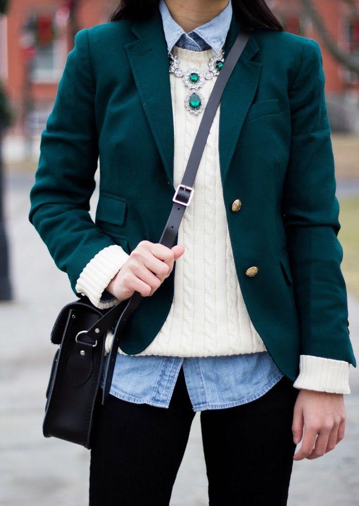 how to wear a cream blazer reddit
