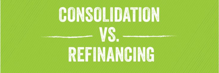What's the difference between student loan consolidation and refinancing, andhow do these actions affect private vs. federal student loans? Get the answers here to understand your student loan options.