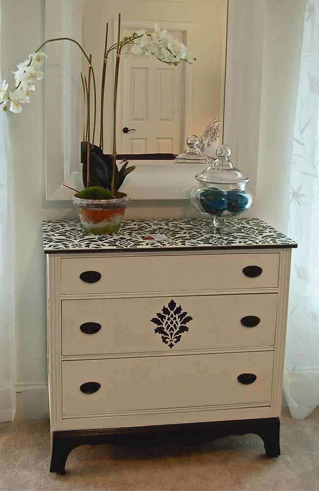 81 best images about Stencil  Painted Furniture on Pinterest
