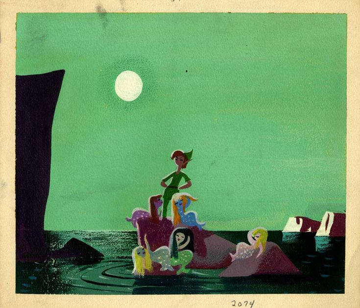 Disney Concept Art to Brighten Your Day || peter pan