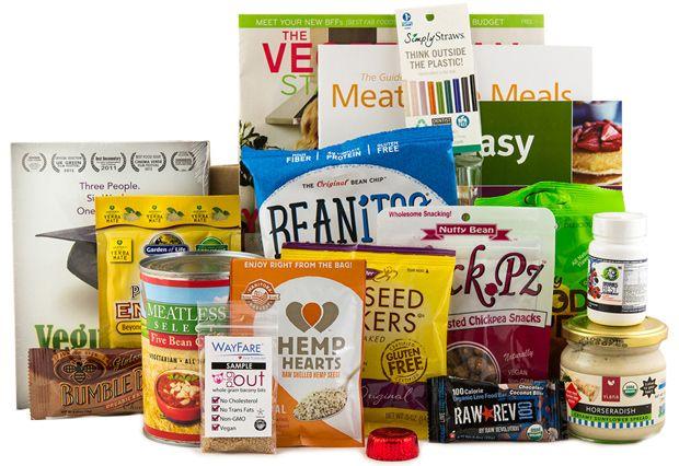 Our Vegan Starter Kit makes going vegan easy peasy. :)