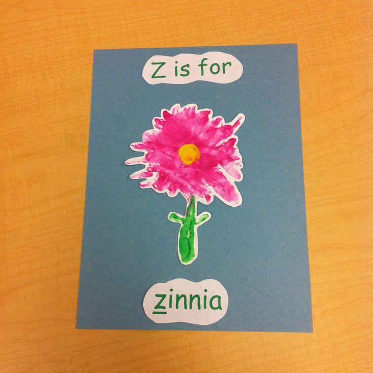 Z is for zigzag handprint pic | Letter Z | Pinterest
