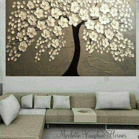 Cadro arbore flores