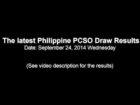 SEPTEMBER 24, 2014 PCSO LOTTO DRAW RESULTS - http://LIFEWAYSVILLAGE.COM/lottery-lotto/september-24-2014-pcso-lotto-draw-results/