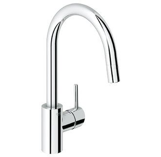 kitchenConcetto Faucets, Nice Kitchens, Simple Kitchens, Kitchen Faucets, Grohe Faucets, Chrome Kitchen Faucet, Faucets Ideas, Kitchens Faucets, Kitchens Sinks