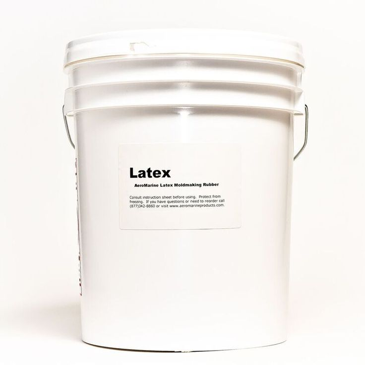 AeroMarine Products' mold making latex is one of best liquid latex rubber products on the market. It goes on thicker than any other liquid latex, which give