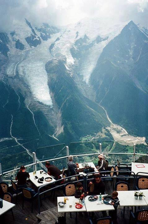Chamonix, France (Restaurant Le Panoramique Mont Blanc)