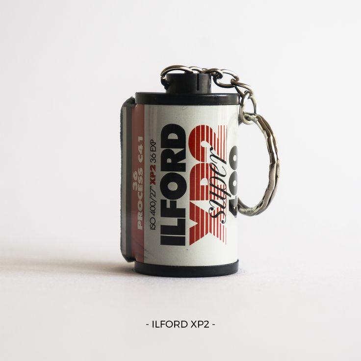 Ilford XP2 | 35mm film photography | keychain