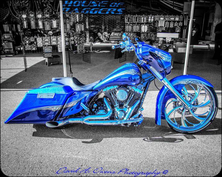 House of Baggers Custom Blue