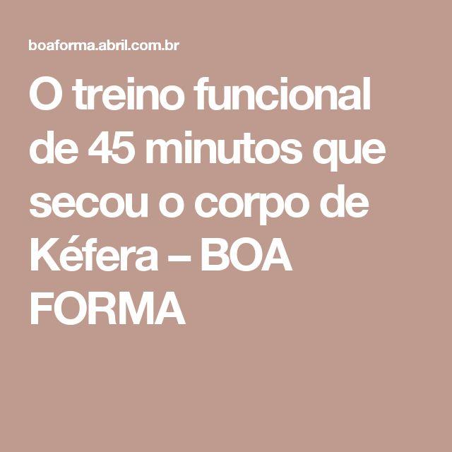 O treino funcional de 45 minutos que secou o corpo de Kéfera – BOA FORMA