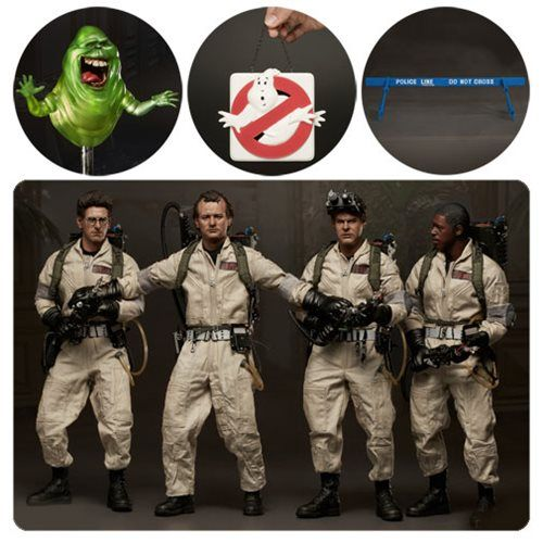 Ghostbusters 1984 Classic 1 6 Scale Collectible Action Figure 5-Pack