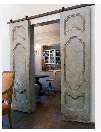 Old Sliding Barn Doors