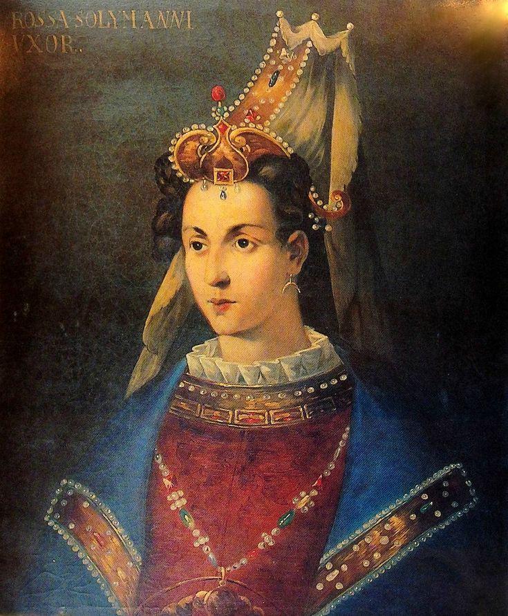 BASHASEKI  HUERREM SULTAN WIFE OF SULTAN SULEYMAN I  SULTANE ROXELANA