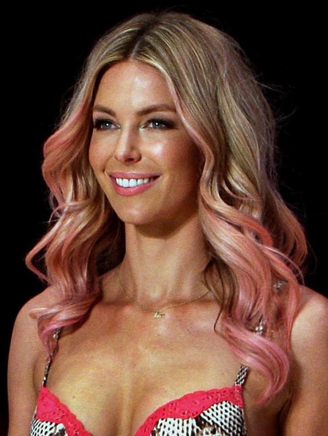 20 Amazing Dip-Dye Hairstyles: Jennifer Hawkins