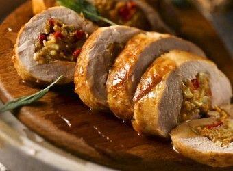 Receta de Lomo relleno con salsa de uvas - Blog de CocinaBlog de Cocina