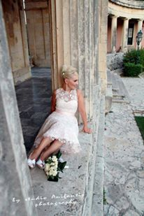 Real bride by Mariannna Kasrinos Couture Photo:Anifantis