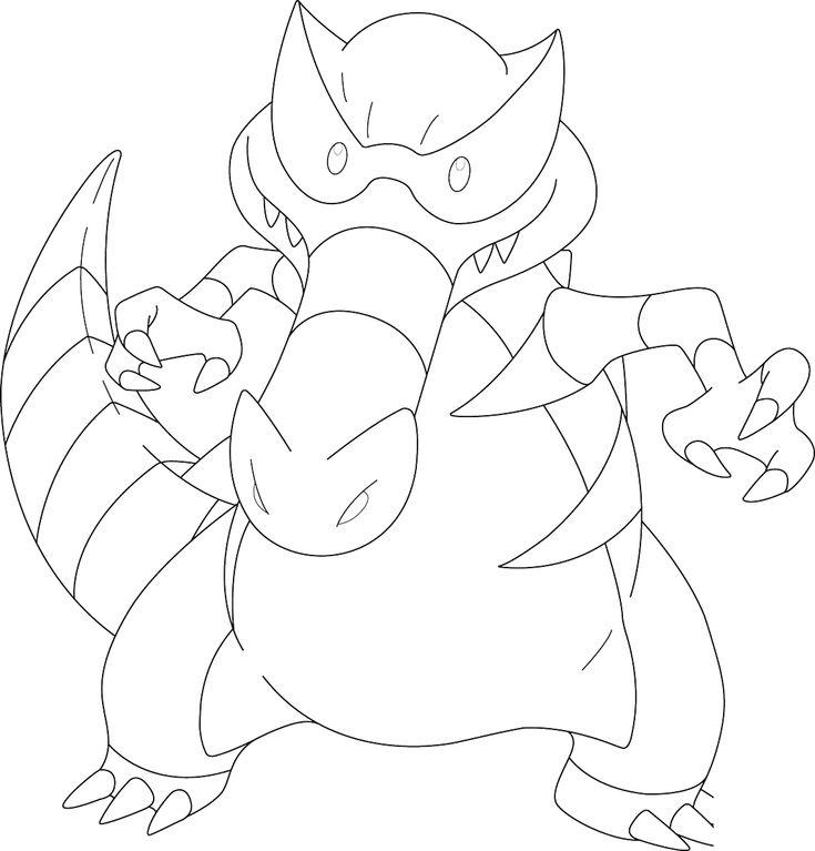 503 samurott pokemon kleurplaat Pokemon Kleurplaten (Vijfde - new pokemon coloring pages krookodile