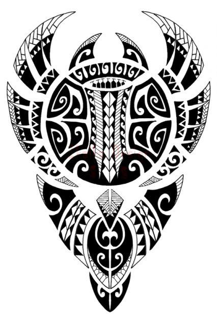 Samoan and Polynesian tattoo designs