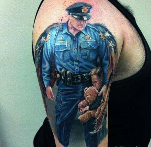 66 best images about Law Enforcement Tattoos on Pinterest   Punisher skull tattoo, Thigh tattoos ...