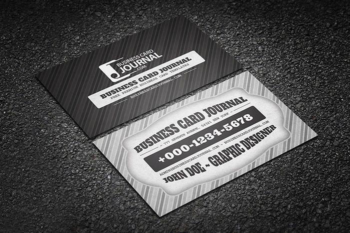 55 best business cards images on pinterest carto de negcio preto classic retro black business card reheart Image collections