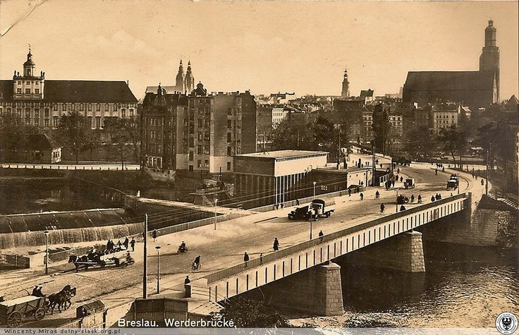 Most Pomorski - północny 1933-38