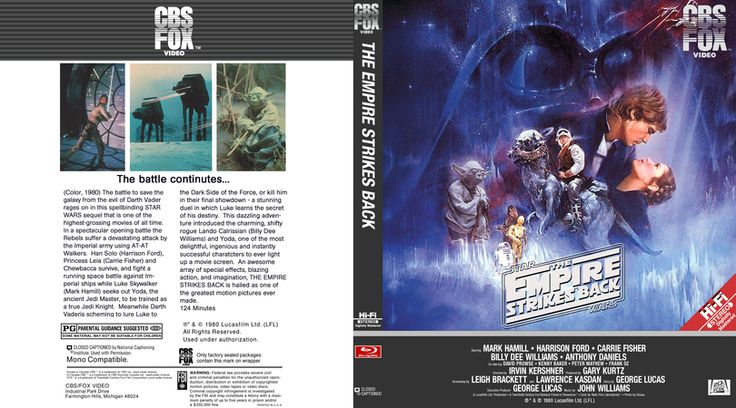 Star Wars Episode 5 Blu-ray Custom Cover