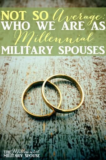 Are you an average military spouse? What does that mean?