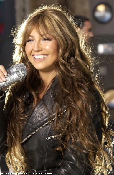 Thalia @Lady T by Kevin Mazur, 'Tu y Yo' music video shoot [MQ] - Webster Avenue, Bronx, New York City - March 21, 2002