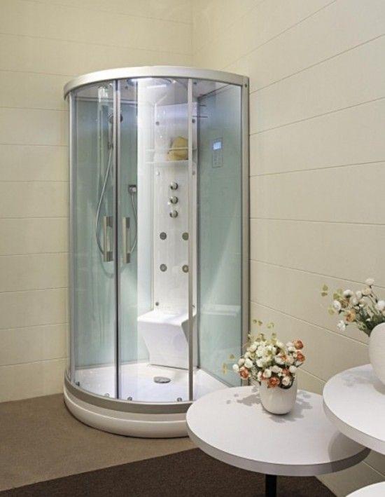1000+ ideias sobre Hidromassagem Vertical no Pinterest  Banheiras de hidroma -> Banheiro Pequeno Arrumado