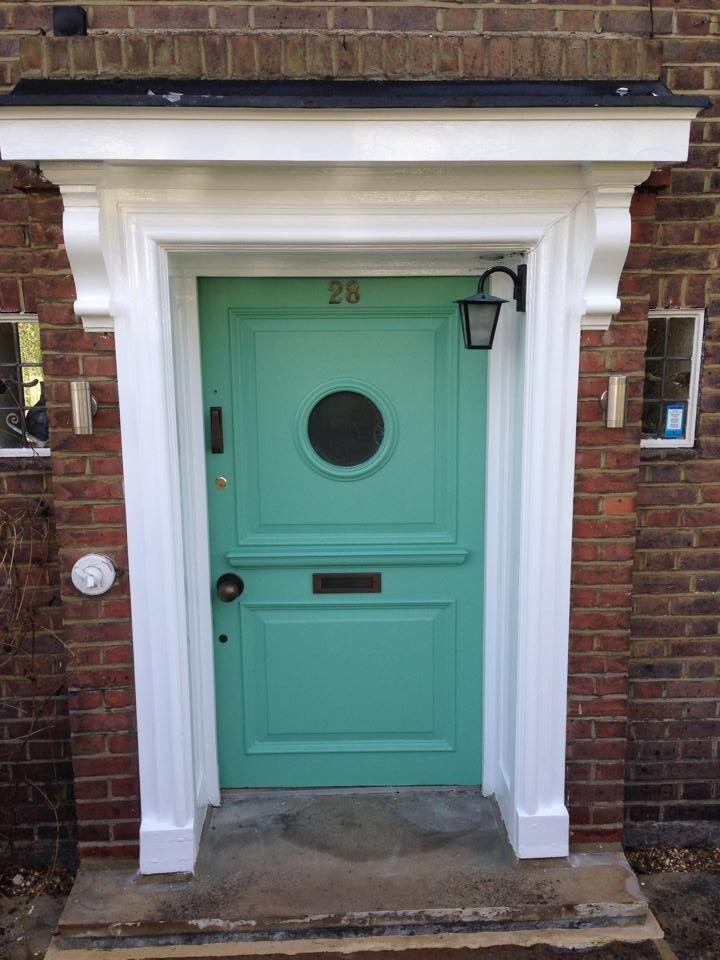 Front Door in F&B Arsenic No 214 www.Facebook.com/alison.dodds.39