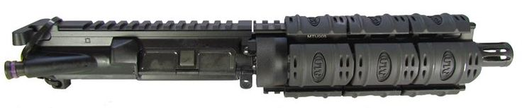 "JSE 7"" Wilson Arms 9MM SS HBar UTG Quad Rail Handguard w/ Rail Covers 9MM Upper Complete A2 FH"