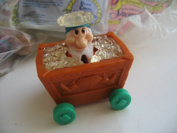 Disney Snow White and the Seven Dwarfs  McDonalds Toys by Klassic, $15.00