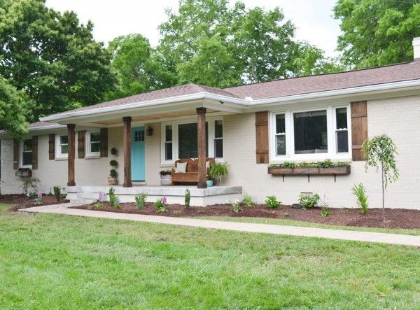 25+ Best Ideas About Ranch Homes Exterior On Pinterest   Ranch House  Remodel, Ranch