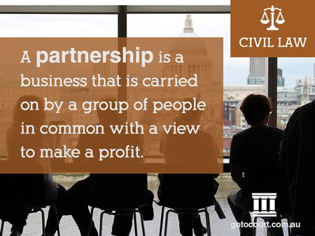 All of the States and Territories of Australia have very similar partnership laws, with three different kinds of partnerships: a normal or general partnership, a limited partnership and an incorporated limited partnership.  Read more: Partnerships in Tasmania, Link: https://www.gotocourt.com.au/civil-law/tas/partnerships-in-tasmania/