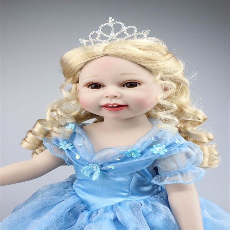18inch 45cm Silicone baby reborn dolls, lifelike doll reborn babies toys for girl princess gift brinquedos Children's toys