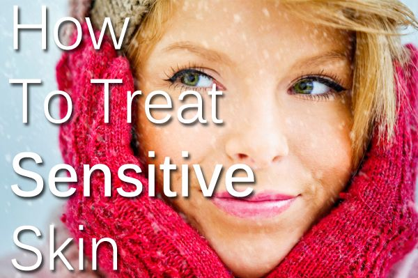 How to treat sensitive skin during the colder months #SensitiveSkin #Beauty #Skincare #SkinHealth #HydraFcial