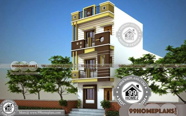 Narrow House Designs 6m 70 Two Storey Homes For Small Blocks Free Narrow House Designs Latest House Designs House Design House designs small blocks