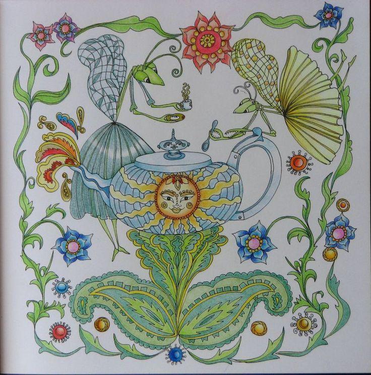 A 25. képem.  Jessica Palmer Tangle Magie coloring book.