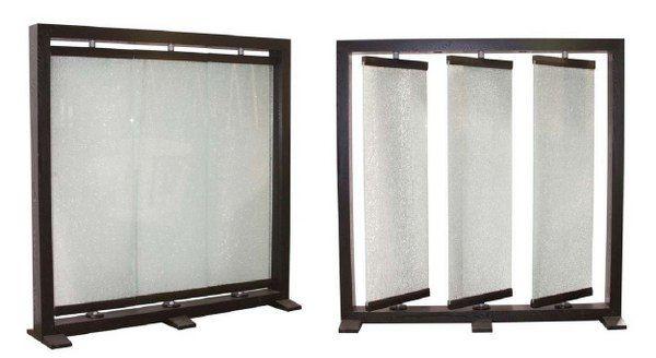 Glass Room Divider crackled glass room divider. crackled glass splash backs that