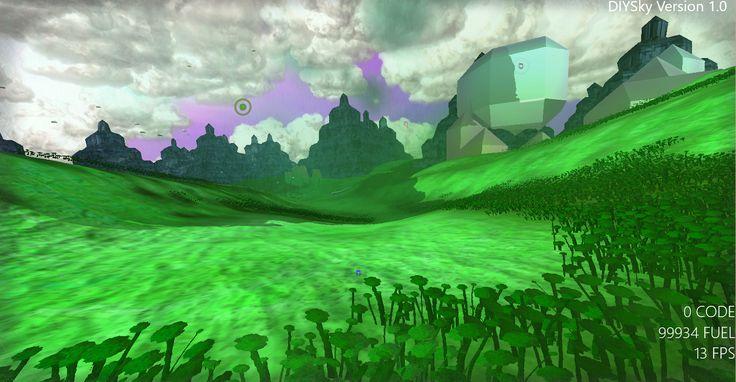 Screen shot from DIYSky virtual universe simulator. #Diysky #universe