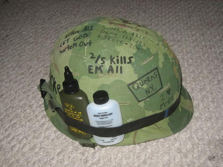 Korean war helmet cover