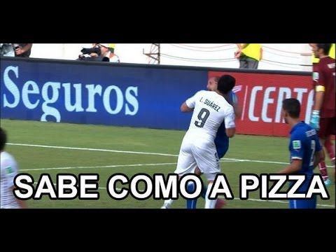 LA MORDIDA DE Luis Suárez - MEMES