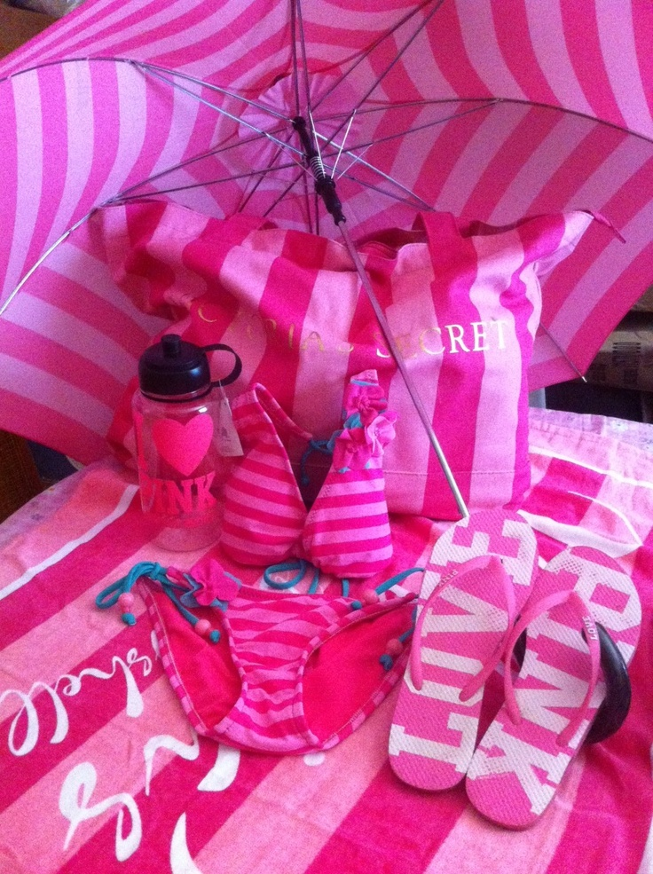 All My (I personally uploaded this and own these items)  personal Victoria's Secrets and Target (the swimsuit is from target) things I wear and use while enjoying My Victoria's Secret Summer! My photo has a copyright.