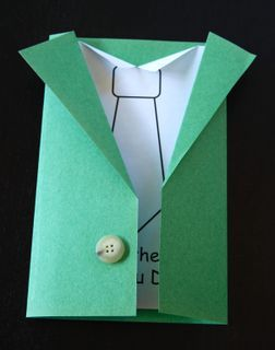 DIY Father's Day Card - Printable Included