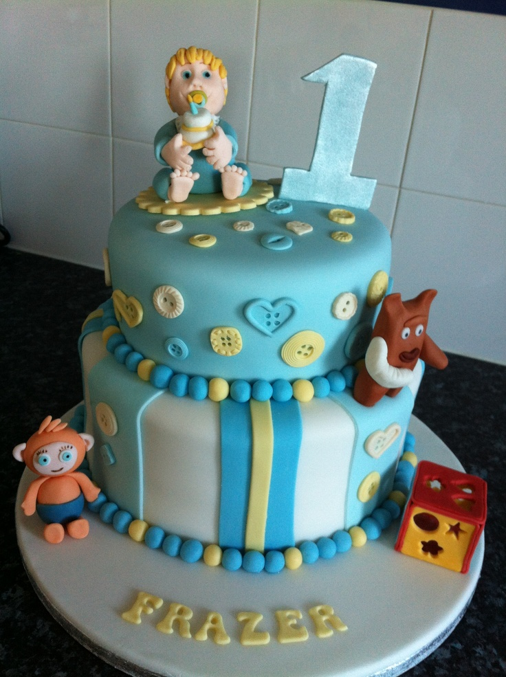 119 Best Baby Boy Cake Ideas Images On Pinterest Birthdays