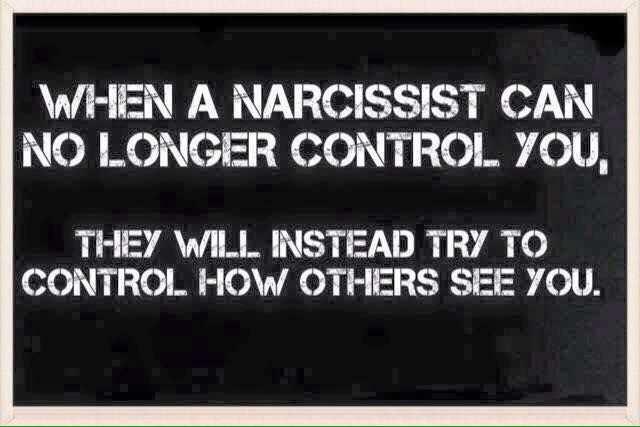 This is SO true. Narcs that are rejected and narcs that have no contact go around spreading lies and rumors about the survivors of their narc.bullying.