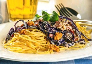 Pasta carbonara med kalkonbacon 11 SP