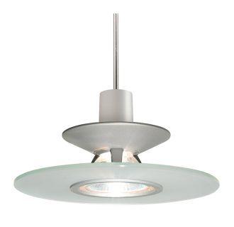 "View the Juno Lighting PKH328 Single Light 6"" Wide Mini Pendant with Disc Shade at LightingDirect.com."